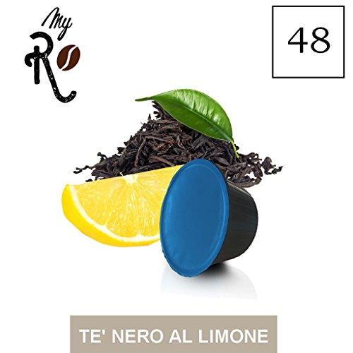 48 Dolce Gusto capsules compatibel - zwarte thee met citroen - MyRistretto
