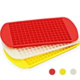 IHUIXINHE Mini Silicone Ice Cube Trays,160 Grids Ice Cube Trays,Cold Drink Small Crushed