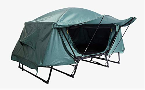 BAJIE tent Automatic Smart Tent Off Ground Tent Above Ground Waterproof Outdoor Folding Camping Bed Tent,Cz-830B Camping Bed Tent Green