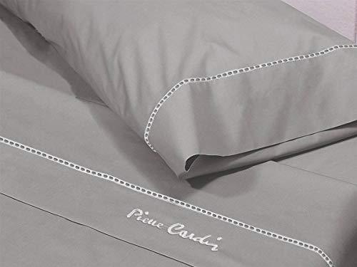 Pierre Cardin Bettwäsche Arcadia 135 cm, Grau, Baumwolle, Bett 135 cm