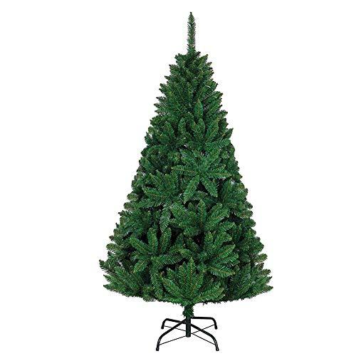 TTIK Árbol Artificial de Navidad Material PVC Plegable y Fácil de Montar...