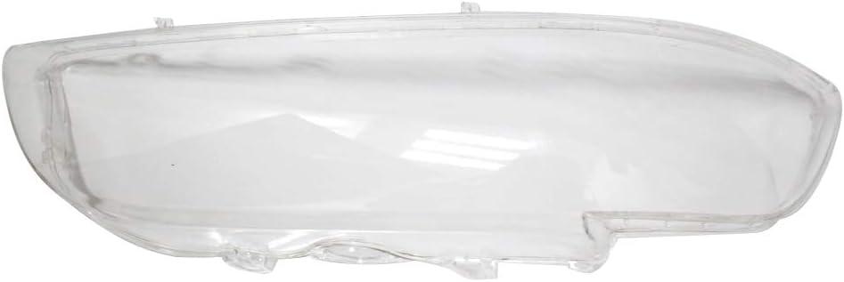 Walmeck Scheinwerferabdeckung Shell Clear Glass Lens Scheinwerferglas Rechts 63128375302 f/ür 5 Series E39 518 520 523 52