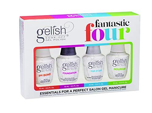 Harmony Gelish Fantastic Four - Pack esmalte de uñas de gel (4 x 15 ml)