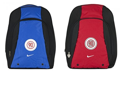 Nike Fahrradrucksäcke Total 90 Bacl Pack Classic Rucksack School Bag Back to School Bag Red/Blue 594184 (Blue/Black)