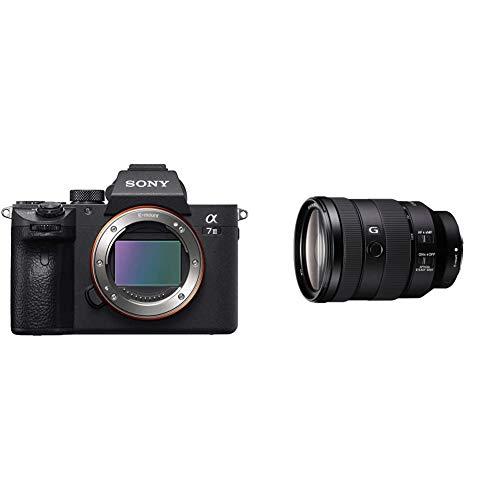 Sony Alpha 7 III | Fotocamera Mirrorless Full-Frame (AF Rapido in 0.02s, Stabilizzazione Integrata a 5 assi, 4K HLG, Batteria ad alta capacita) & SEL 24105G Obiettivo con Zoom 24 105 mm F4