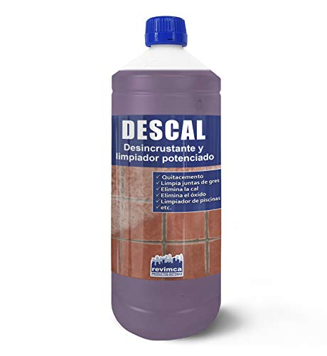 DESCAL. Desincrustante y limpiador de residuos de cemento, hormigón, mortero. (1 Litro)