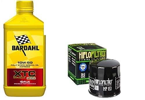 Kit révision Ducati 4 l huile Bardahl XTC C60 10W50 filtre huile Hiflo HF153