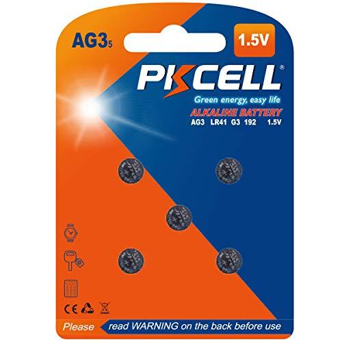 Digital Thermometer Batteries LR41 392 192 384 AG3 1.5V 5Pcs