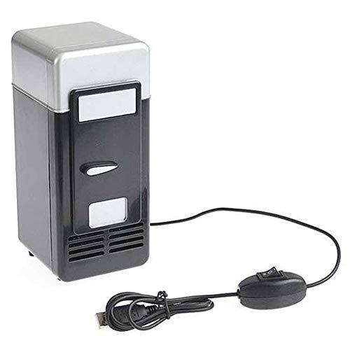 MAyouth Mini USB Kühlschrank Gefrierschrank Getränk Bierkühler Kühlschrank für Reise Auto Büro