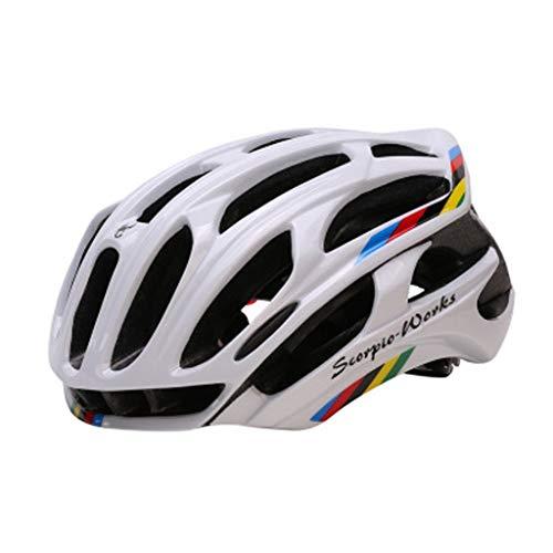 JM- Casco de Bicicleta para Adultos, Hombres y Mujeres Profesionales, protección de...