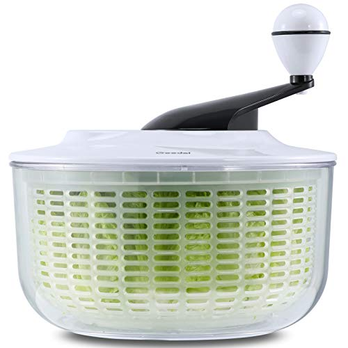Salad Spinner, Lettuce Spinner Dryer Easy to Clean, Salad Washer Dryer Ideal for Vegetables and Fruits