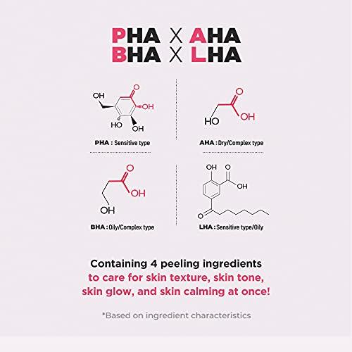 [NEOGEN公式]ネオゼンダーマロジーPHAガーゼピーリングパッド(ワイン)