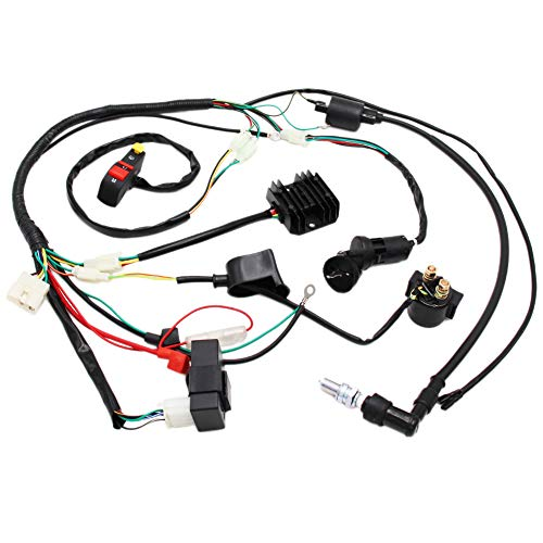 Akozon 6 Pin Racing CDI Box Ignition Coil for Motorcycle 125cc 150cc 200cc 250cc Pit Bike Scooter ATV