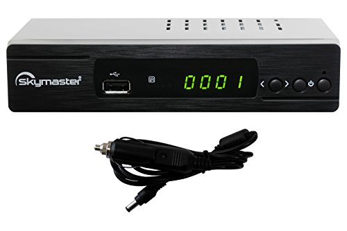 Skymaster DXH310/12 HDTV Camping Sat Receiver schwarz