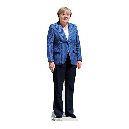 partyman.co.uk Angela Merkel-Pappfigur, Lebensgröße