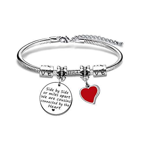 JIYAOANDX Family Bangle Bracelet Birthday Jewelry Cousins...