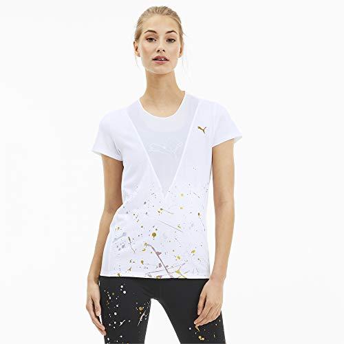 PUMA Metal Splash Deep V tee Camiseta Mujer