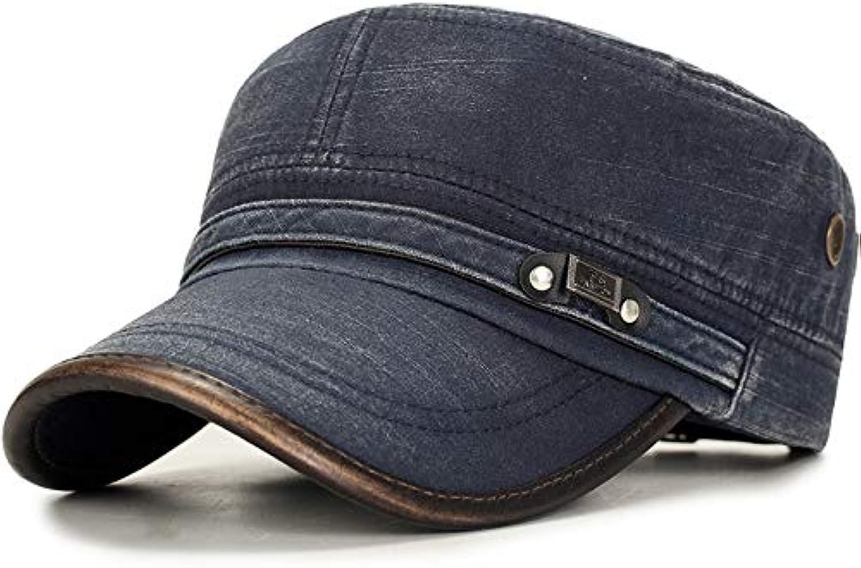 AAMOUSE Baseball Cap New Vintage Flat Top Cap Snapback Baseball Cap Men Women Gorras para Hombre Cotton Trucker Cap Fitted Hats