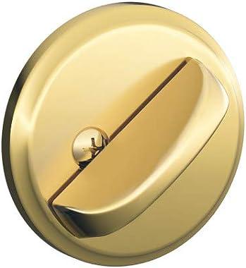 Schlage B80 605 12-287 10-116 134 N N SL One-Sided Deadbolt, Bright Brass