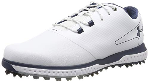 Under Armour Herren Fade Rst 2 E Golfschuhe, Weiß (White/ Steel/ Academy (100) 100), 43 EU