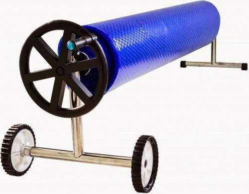 Enrouleurs pour piscine ou 7032-600 Bâche solaire thermique telescopique max (5,55 mm en acier inoxydable et aluminium)