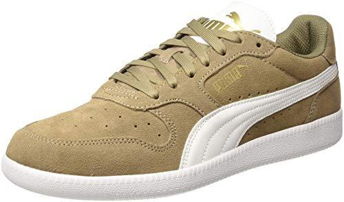 PUMA Unisex-Erwachsene Icra Trainer SD Sneaker, Fossil Puma White Puma Team Gold, 42 EU