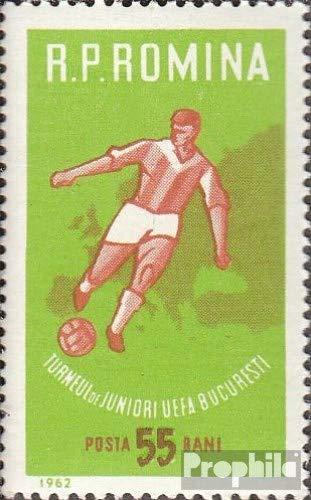 Roemenië Mi.-Aantal.: 2043 (compleet.Kwestie.) 1962 UEFA-Beker de Juniors (Postzegels voor verzamelaars) voetbal