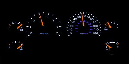 HERCOO White LED Light Bulbs for Instrument Gauge Cluster Speedometer Compatible with 2002-2006 Dodge Ram 1500 2500 3500