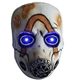 Borderlands 3 Legends psycho mask LED Light Up Game mask Scary halloween cosplay props for Adult and Teens