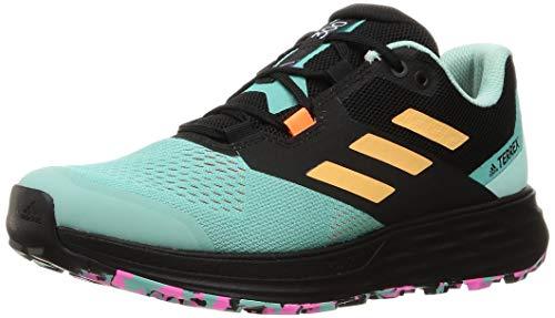 adidas Terrex Two Flow, Zapatillas de Trail Running Hombre, MENACI/NARBRU/ROSCHI, 42 2/3 EU