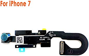 Johncase New OEM 7MP Front Facing Camera Module w/Proximity Sensor + Microphone Flex Cable Replacement Part Compatible for iPhone 7 (All Carriers)