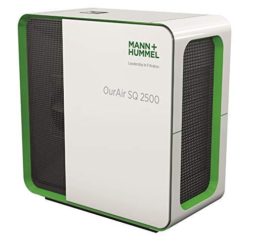 MANN+HUMMEL I - Purificador de aire filtro HEPA H14 I 2500 m3/h – para grandes espacios hasta 200 m2