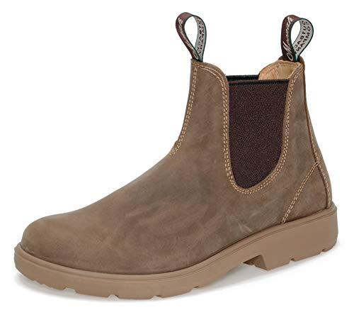 Moonah Ladies' Town & Country Chelsea Boots Light   Vintage-Sahara   UK 6.5 / EU 40.0