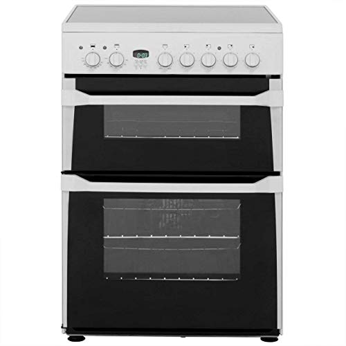 Indesit Advance ID60C2WS Electric Cooker with Ceramic Hob - White