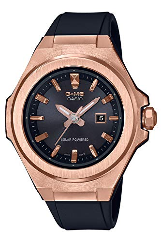 [カシオ] 腕時計 ベビージー G-MS ソーラー MSG-S500G-1AJF レディース