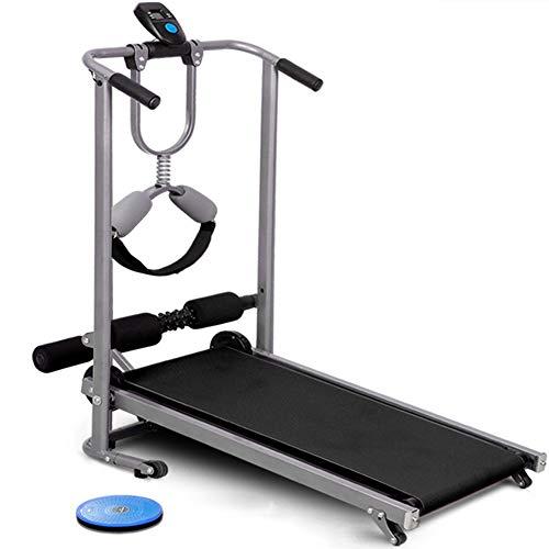 Loopband QFF@ multifunctionele mechanische mini-walking-machine niet elektrische vouwbare fitnessapparaten passen handmatig op handmatige belastingscapaciteit tot 150 kg