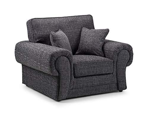 Honeypot - Sofa - Wilcot - Corner Sofa - 3 Seater - 2 Seater - Grey Fabric (Armchair)