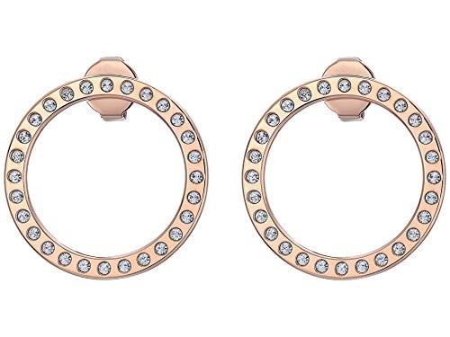 Calvin Klein Pendientes de gancho para mujer Talla única rosa
