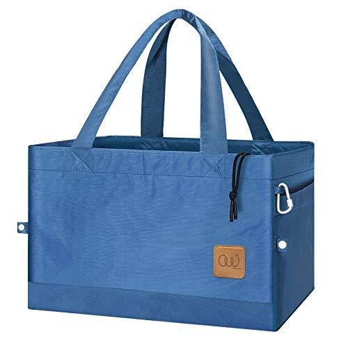 保冷バッグ 大容量 エコバッグ 保冷 レジカゴバッグ 折りたたみ 人気 おしゃれ 男性 女性 兼用 ショッピングバッグ 買い物バッグ 高級仕様 厚手 巾着付 かごサイズ 約30L 繰り返し洗える