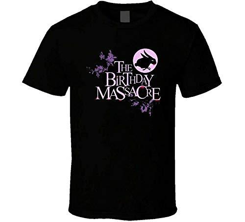 The Birthday Massacre T-Shirt Simple Style Tee Printed Short-Sleeve for Men Black L