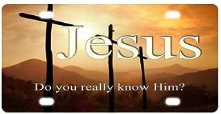 HangTime John 3:16 Religious License Plate