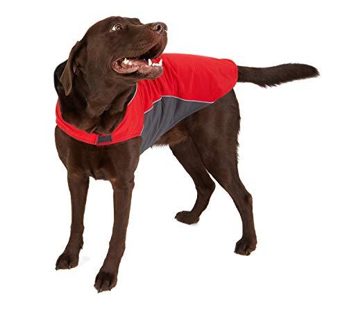 Hundemantel Warm, Innen mit Fleece, Hochwertiges Material, Atmungsaktiv und Wasserabweisend Wintermantel/Winterjacke (Größe 12) - 6