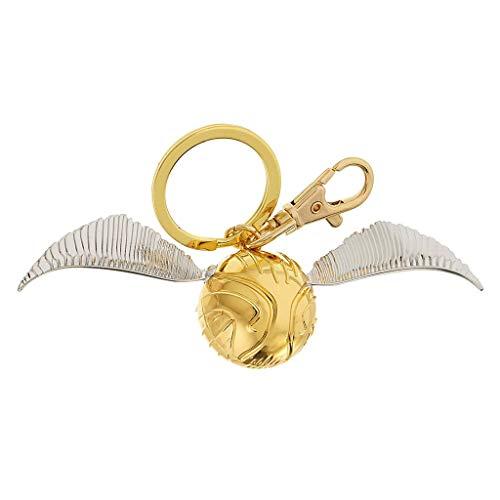WAGA Lindo Llavero Golden Snitch Llavero Harry Potter Llavero Retro Metal Llavero Colgante Coche Llaveros Exquisitos Cumpleaños Aniversario Regalo Regalo para Mujeres