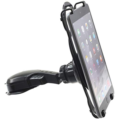Car Mount Tablet Holder Dash Cradle Dock Swivel Telescopic Strong Grip Compatible with iPhone 12, Mini, Pro, Max