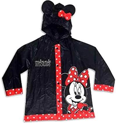 Disney Minnie Rain Poncho Coat Jacket Slicker 2T 4T Black product image