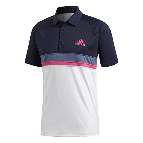 adidas Club C/B Tennis-Poloshirt für Herren S Tinley