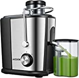 Juicer Wide Mouth Juice Extractor, Aicook Juicer Machines BPA Free Compact Fruits