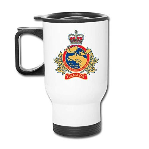 Du-shop Becher Das Algonquin Regiment Kanada Edelstahl Reisebecher Becher Teetasse Kaffeethermosflasche Tasse