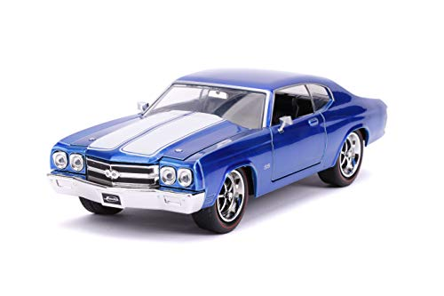 Jada Toys Big Time Muscle 1970 Chevy Chevelle SS Blue 1: 24 Diecast Vehicle