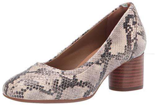 Clarks Damen Un Cosmo Step Pumps, Natürliches Schlangenleder, 38.5 EU